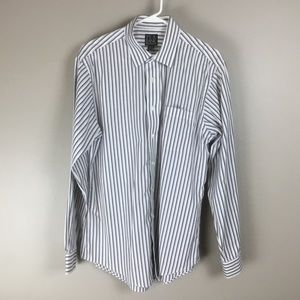 Jos A. Bank travelers slim fit shirt 16.5 35